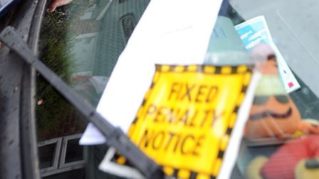 Ipswich Borough Council have issued more than 3,000 extra parking tickets in 2014 than in 2013.