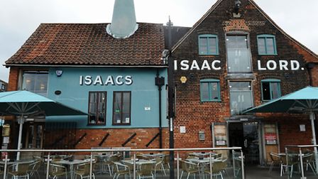 Isaacs on the Quay, Ipswich.