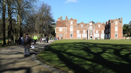 A sunny February half-term day in Christchurch Park, Ipswich.