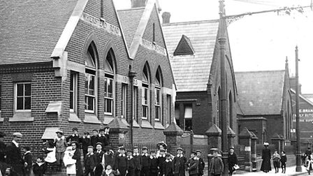 Mr Scrivener was a pupil at Wherstead Road School which stood between Station Street and Kenyon Stre