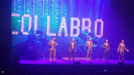 Collabro at the Ipswich Regent