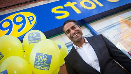 Boss of the 99p Stores, Hussein Lalani.