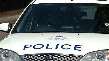Police in Hadleigh have said there is no link between a photograph of a white van parked near school
