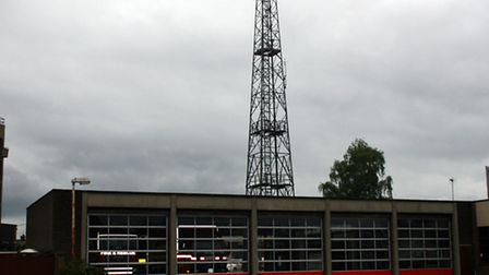 The Colchester Road Fire Station, which closed in 2011