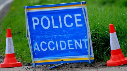 Delays have been caused by a road traffic accident