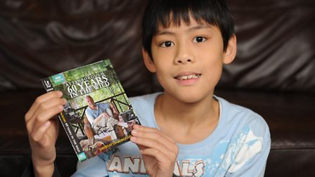 Henry Wang, 10, is a huge fan of Sir David Attenborough and he decided to write him a letter. Withi