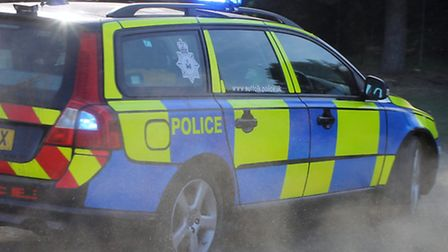 Suffolk police car. Library image. Photo by Kris Page.