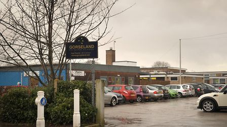Gorseland Primary School, in Ipswich, where Mr Beech would like Fay to go to