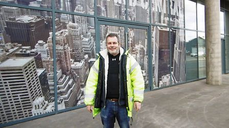 Steve Haslam, of regional company TLC Inns, who is openign the company's fourth Grand Central Americ