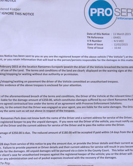 Thomas Wray and Chelsea Lydford who are unhappy about the �250 parking fine they received after park