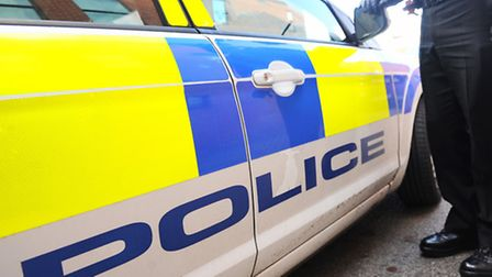 Police said a 37-year-old man has been arrested on suspicion of aggravated burglary following the in