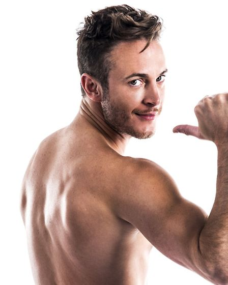Gary Lucy, starring in The Full Monty at the Ipswich Regent