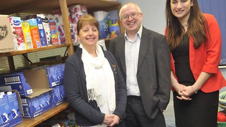 Maureen Reynel tells leader of the Ipswich Borough Council David Ellesmere and Shadow minister for P