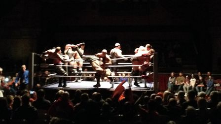 All Star Wrestling at the Corn Exchange