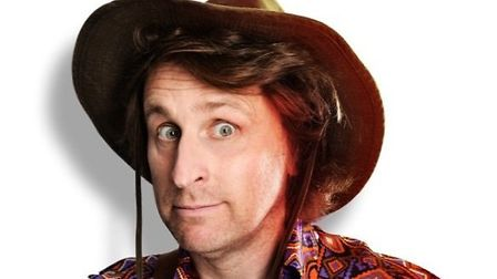 Stand-up Milton Jones brings his Temple of Daft tour to the Ipswich Regent this October