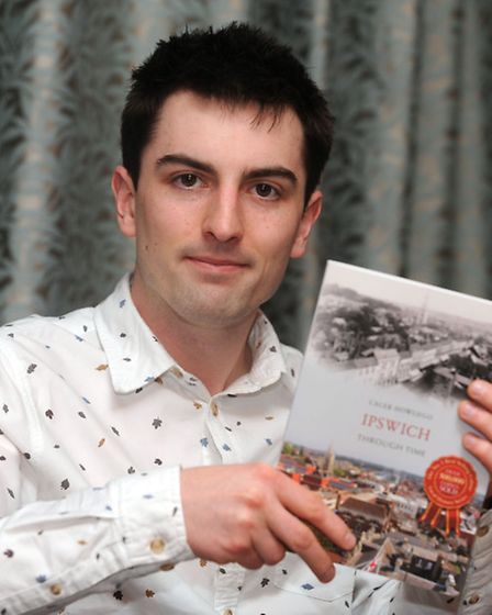 Caleb Howego has written a book about the history of Ipswich.