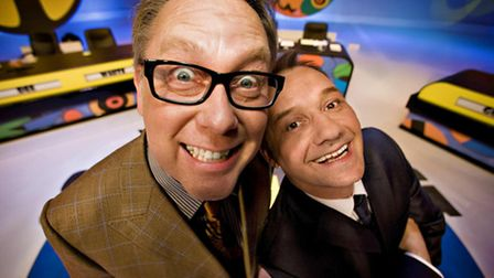 Reeves and Mortimer are heading on tour for the first time since 1995. They're at the Ipswich Regent