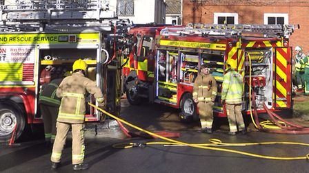 Fish and chip shop blaze in Sible Hedingham