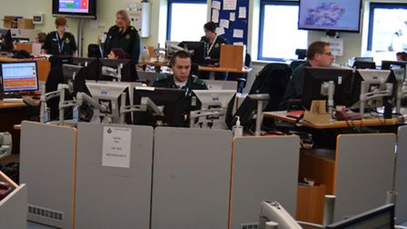 The EEAST emergency operations centre