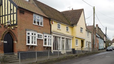 The same view of Lower Street Sproughton today. (Photo David Kindred)