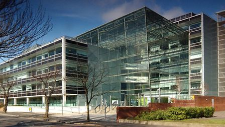 Suffolk County Council's base at Endeavour House