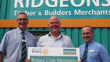 Builders merchants and DIY suppliers Ridgeons have launched a new discout card for Rotary members