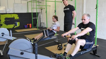 Reporter Matt Stott took on the UK's fittest man aged over 60, who is Great Bealings 62-year-old Mik