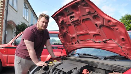 Joseph Reason is angry he cannot continue on a Level Three BTEC mechanics course at Suffolk New Coll