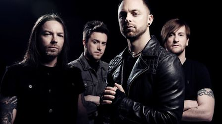 Welsh heavy metal band Bullet For My Valentine come to Ipswich Corn Exchange this October