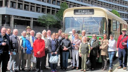 Members of the Rotary Club of Ipswich Orwell hosted a visit by members of their German twin club, f