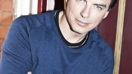John Barrowman, coming to the Ipswich Regent Tuesday
