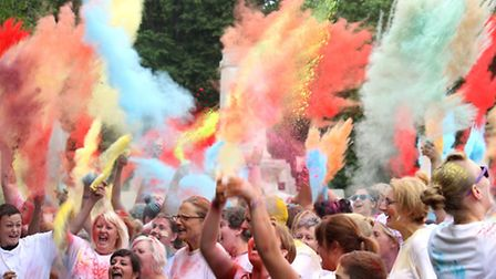 Last year's Colour Dash in aid of EACH