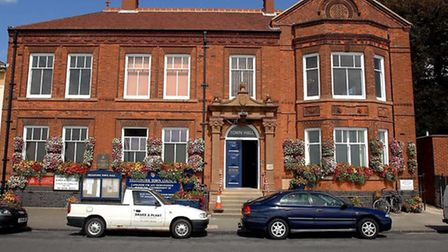 Felixstowe Town Hall - a new look coubncil is taking office
