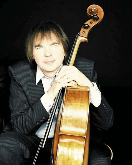 Julian Lloyd Webber, looks back at his career during the show. Photo: Simon Fowler