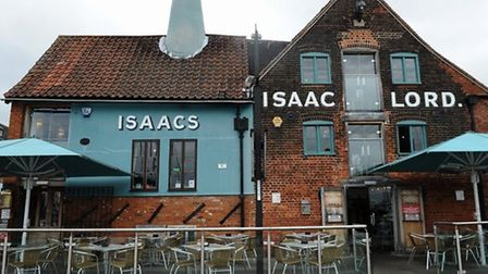 Isaacs on the Quay