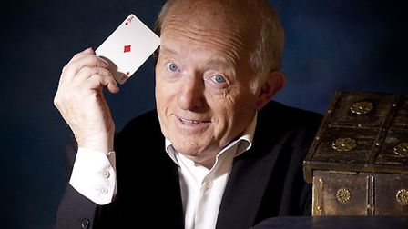 Magician Paul Daniels, starring in Enchanted Entertainment's panto Aladdin at the Ipswich Regent thi