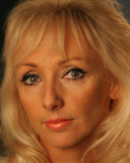 Debbie McGee, starring in Enchanted Entertainment's panto Aladdin at the Ipswich Regent this Christi
