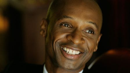 Andy Abraham, starring in Enchanted Entertainment's panto Aladdin at the Ipswich Regent this Christi