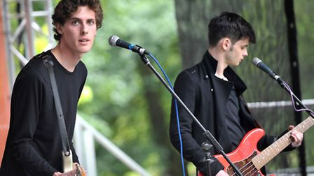 Cathedrals on the Ed Sheeran Stage at last year's Ipswich Music Day