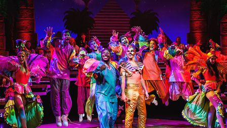 Joseph and the Amazing Technicolor Dreamcoat at the Ipswich Regent from tomorrow. Photo: Darren Bell