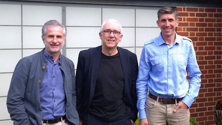 KLH Architects, left to right Martyn Goodwin, Alan Wilkinson and Alan Howard