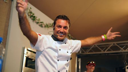 Celebrity chef Gino D'Acampo is coming to Ipswich Regent on November 7. Photo: Ashley Pickering