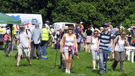 Orwell walk and cycle organisers are hoping for a fine day.