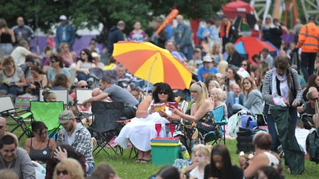 Thousands of people flocked to Ipswich Music Day 2014.