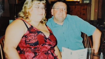 Philip Heathcote with wife Allison. Mr Heathcote is among those who have died as a result of the sho