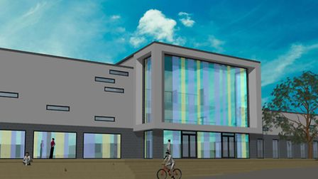 An artist's impression of the new heritage centre.