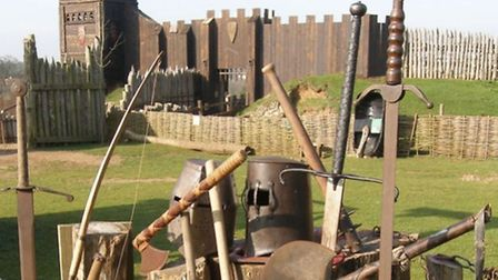 Could Ipswich Castle rival Stansted Mountfitchet?