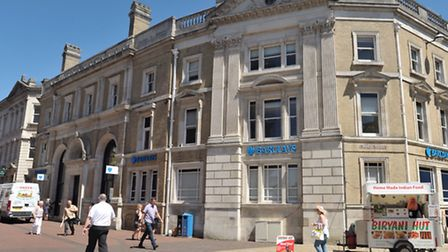 Barclays Bank on Princes Street in Ipswich.