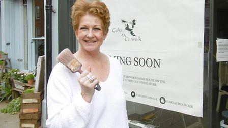 Businesswoman Lynn Turner who is about to open her second boutique in St Peter's Street, Ipswich