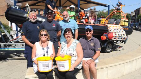 Felixstowe volunteer coast patrol rescue service fundraiser to get the service back up and running.